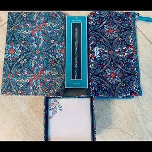 Vera Bradley's Pen, Pouch, Post-It, Journal